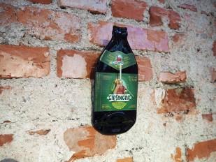 Giesinger Bierflaschen-Uhr