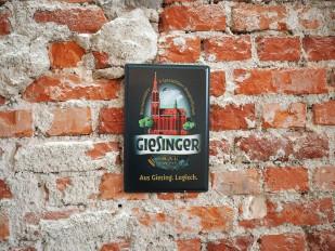 Giesinger Blechschild